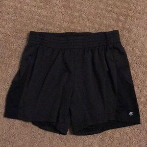Black Champion Girls Shorts